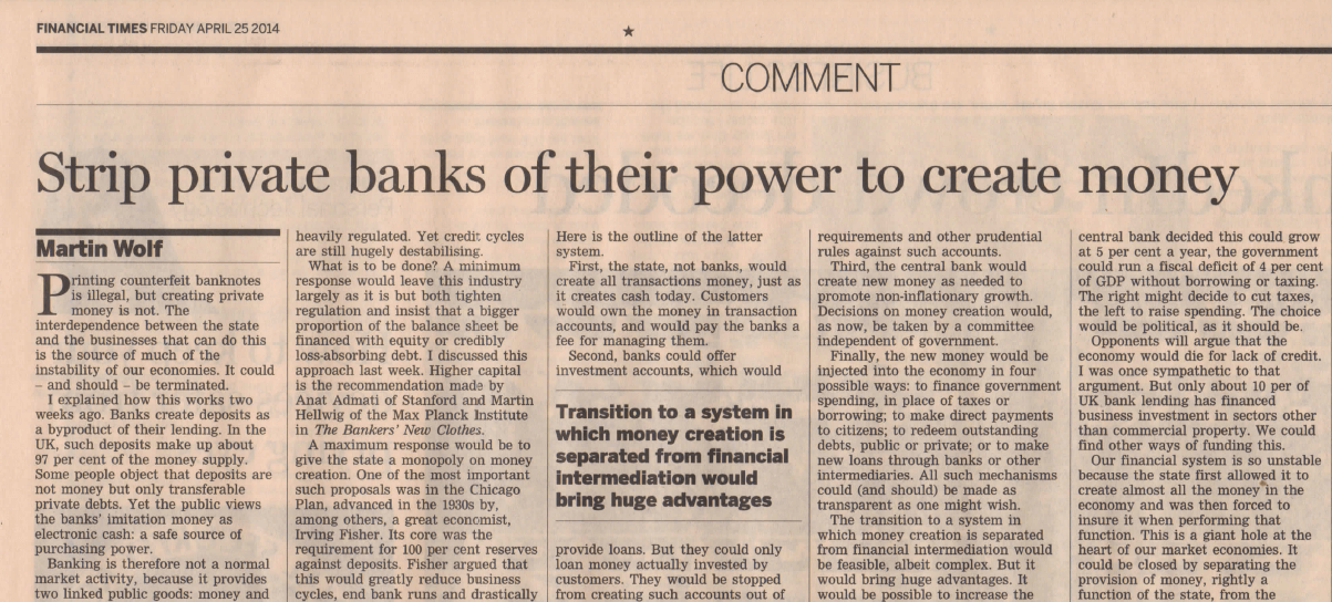 20140424_Strip private banks of their power to create money_illustratie_FT_Martin Wolf