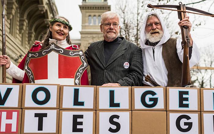 Uitkomst Vollgeld-referendum