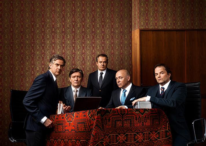 """De Verleiders: """"Door de bank genomen"""" (foto: Paul Posse)"""